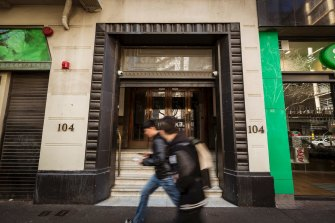 The sale of 104 Exhibition Street netted the Liberals a handy $37 million.