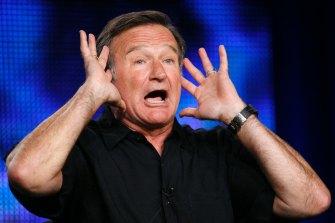 Fast talker Robin Williams in 2009.