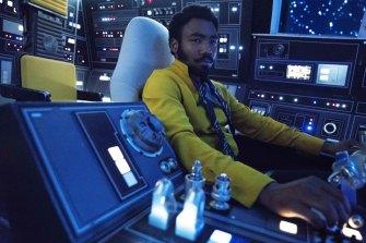 Donald Glover said his Star Wars' character Lando Calrissian was pansexual.