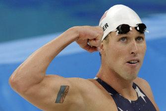 Klete Keller at the 2008 Olympics in Beijing.