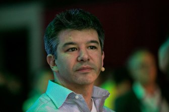 Travis Kalanick is resigning from Uber's board.