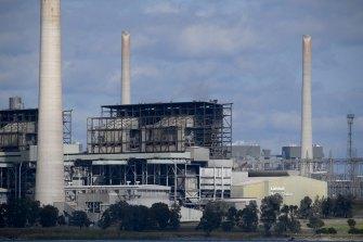 AGL's Liddell coal-fired power station.