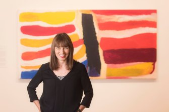 Maud Page, deputy director and director of collections at the Art Gallery of NSW.