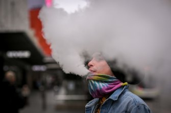 People who vape are at increased risk of getting COVID-19, researchers found.