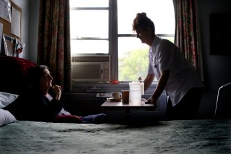 Residents of aged care homes are to receive a minimum of 200 minutes per day of care.