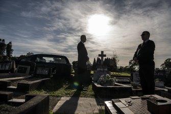The government last month announced plans to merge the five existing Crown cemetery operators in metropolitan Sydney into one.