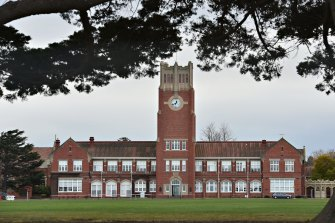 Geelong Grammar school closed four campuses on Wednesday as a precaution.