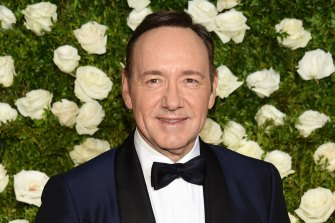 Actor Kevin Spacey.