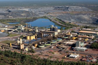 The Ranger mine was one of Australia's major sources of uranium before it ceased production in January.