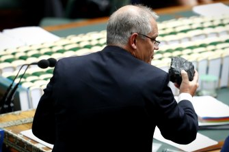 Scott Morrison goaded the Labor Party with a lump of coal in Parliament in 2017.