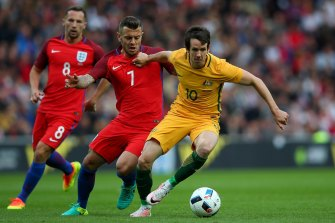 The Socceroos suffered a 2-1 defeat to England in Sunderland in 2016.