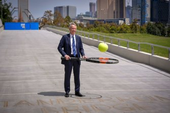 Tennis Australia boss Craig Tiley.