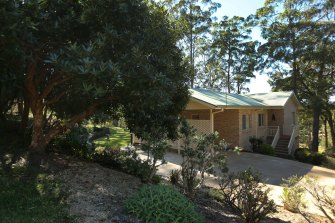 The house where William Tyrrell was playing when he vanished.