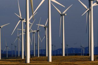 The costs of renewable energy such as from wind are expected to continue to drop.