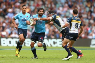 Jacques Potgieter gave the Waratahs an abrasive quality in 2014.