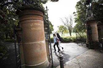 St Paul's College is considering enrolling undergraduate women