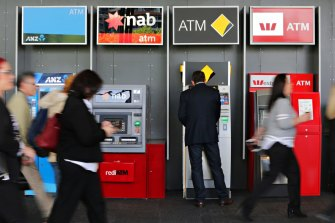 CBA shares have surged by about 17 per cent since the end of March, the sharpest rise of the big four over this period.