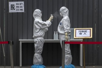 China argues its political structure aided a swift response to the pandemic.