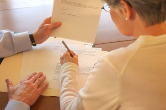 The wording of a Perth woman's will almost cost the beneficiaries of her best friend a share of the estate.