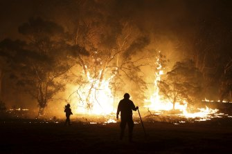 The Red Cross has urged people with loved ones affected by the bushfires to listen to them and seek help if necessary.