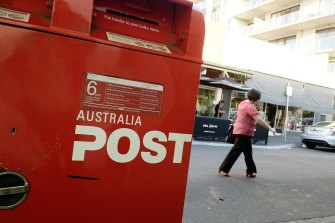 The Australia Post pay deal was announced on Monday.