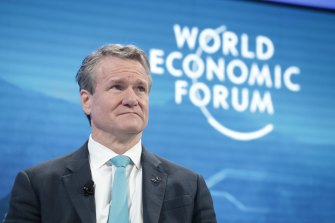 Bank of America chief Brian Moynihan says his investors are telling the bank to invest in companies 'doing right by society'.