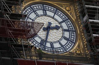 Elizabeth Tower, also known as Big Ben, is undergoing a major transformation.