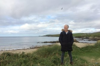 Author Ann Cleeves found great solace in reading when her husband was unwell.