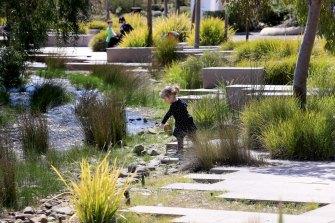 Cranbourne's botanic gardens.