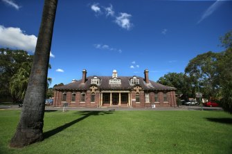 Cumberland Hospital, which gets swallowed whole in the Westmead Place Strategy