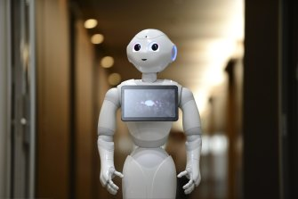 The pandemic has accelerated the adoption of robots at workplaces around the world.