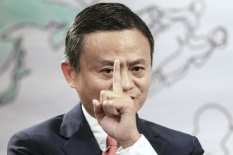 Jack Ma's empire is feeling the heat from China's government.