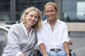 Naomi Watts with Sam Bloom in November 2018.