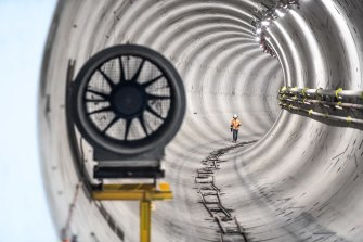 The budget will include $1.37 billion to pay for cost blowouts on the Metro Tunnel project.