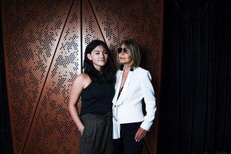The inaugural winner of the Carla Zampatti Foundation Design Award, Sarah Lim. April 2018.