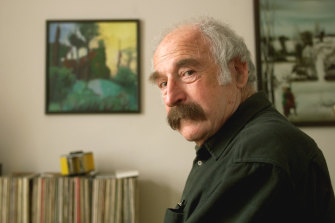 Walter Kaufmann in his apartment in Berlin, Thursday, April 15, 1999.