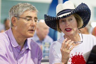 Robbie and Gai Waterhouse.