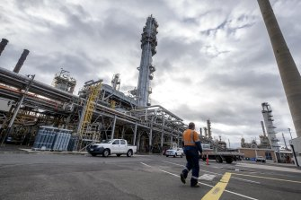 ExxonMobil's Altona refinery in Victoria looks slated for closure with the loss of up to 350 jobs.