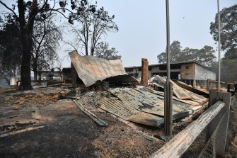 Clifton Creek primary school was destroyed in last week's fires.