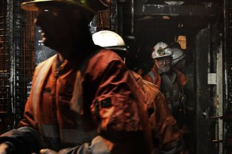 Coal miners at the Metropolitan mine will be off the job for the first two months of 2021 as demand dries up.