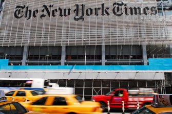 After more than 30 bids, the auction ended with a winning bid of 350 ether, or about $US560,000 for the New York Times column.