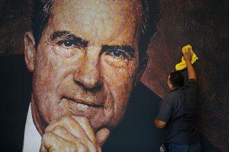 Most former US presidents have their own library, including Richard Nixon.
