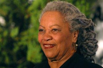 Nobel Prize-winning novelist Toni Morrison.
