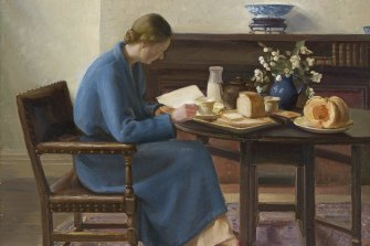 Nora Heysen, London breakfast, 1935.