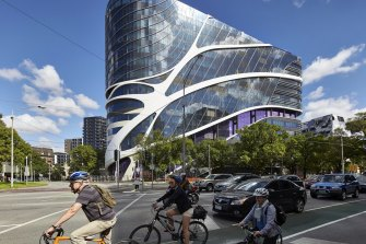 The Victorian Comprehensive Cancer Centre in Parkville stands out as one recent success.