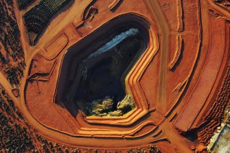 Lynas' Mount Weld mine in Western Australia, the richest known rare earths deposit in the world.