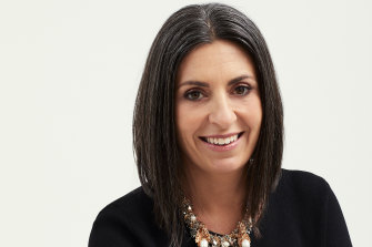 Managing director of Mimco, Sarah Rovis, says the brand's aim was to create an uplifting mood.