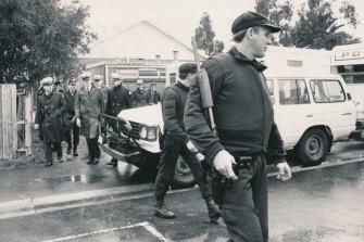 Police hunt for Pavel Marinof aka Max Clark aka 'Mad Max'.