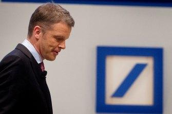 Deutsche Bank chief Christian Sewing.