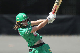 Annabel Sutherland top-scored for the Stars.